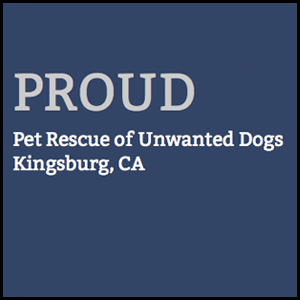 PROUD (Pet Rescue Of Unwanted Dogs)